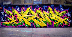 5 Pointz (Abstract Rationality) Tags: nyc cats chicago yellow graffiti yes chitown queens graff 5pointz meres rk dc5 graffitiart ascend nycgraffiti cya yes1 chicagograffiti asend