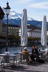 Coffee Time (airfund) Tags: panasonic lumix gh2 olympus mzuiko 45mm f18 cafe restaurant lucerne luzern switzerland suisse schweiz