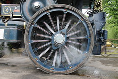 Some wheel (smile-a-while) Tags: history wheels transport engine steam machinery generator cumbria locomotive levenshall
