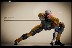 Cyborg Ninja (Gray Fox) - Metal Gear Solid - Play Arts Kai (sir_winger) Tags: grayfox metalgearsolid cyborgninja playartskai