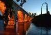 Stone Arch Bridge (jpellgen (@1179_jp)) Tags: bridge usa minnesota night america river mississippi evening nikon midwest downtown minneapolis east 1855mm twincities nikkor 2012 ids stanthony d3100