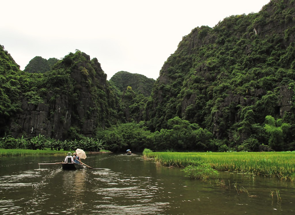 Ninh Binh on a boat by Francisco Anzola, on Flickr