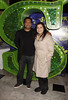 Nitin Ganatra and Nina Wadia 'Shrek The Musical' first anniversary performance held at Theatre Royal - Inside London, England