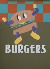 Burgers Hatch New Mexico (Ilhuicamina) Tags: food newmexico art paintings restaurants murals burgers hatch diners cheeseburgers greenchile