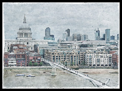 "St Paul's and Millenium Bridge • <a style=""font-size:0.8em;"" href=""http://www.flickr.com/photos/44919156@N00/7173654831/"" target=""_blank"">View on Flickr</a>"