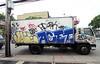 (Into Space!) Tags: street nyc newyorkcity urban ny newyork brooklyn truck ed graffiti photo tag tags dude easy graff xtc bombing bk rk foe kez jobe sen4 throwie kez5 acet intospace intospaces