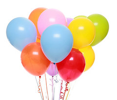 Isolated Balloons (Juan Juregui3) Tags: party colors balloons festive fun toy amusement rainbow colorful pretty bright many vibrant group decoration floating newyear celebration ornament helium gift surprise present bunch strings variety festivity cheerful joyful multicolored celebrate oval lots getwell