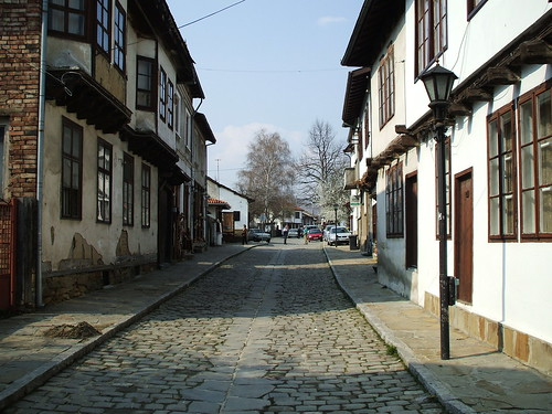 Улица в Трявна / A street in Tryavna