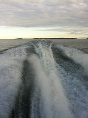 boat wake (SS) Tags: new blue light sea summer vacation sky white seascape green nature water vertical clouds composition photography evening boat moving soft wake barca mare waves mood peace dof view angle wind sweden pov year perspective scenic favorites july floating sverige framing bianco depth tone ambience vastness celeste iphone svezia atmophere sooc natureselegantshots