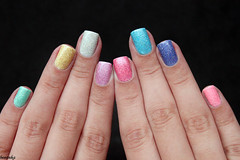 Ultimate 3D, Top Beauty (beeanka.) Tags: glitter rainbow hands nails nailpolish mos unhas esmalte unhascoloridas rainbownails unhasarcoris ultimate3d topbeautyultimate3d arcoiro