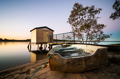 May 14 007 (dieselpower83) Tags: sunset river boat jetty sunshinecoast maroochyriver tokina1116