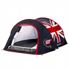 Union Jack Tent from Decathlon by Quecha