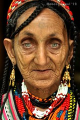 Bibi Kai, one of the most famous and photographed Kalash women (Mobeen_Ansari) Tags: portrait woman 50mm eyes nikon kalash d90 kalasha chitral nikond90 kalashi