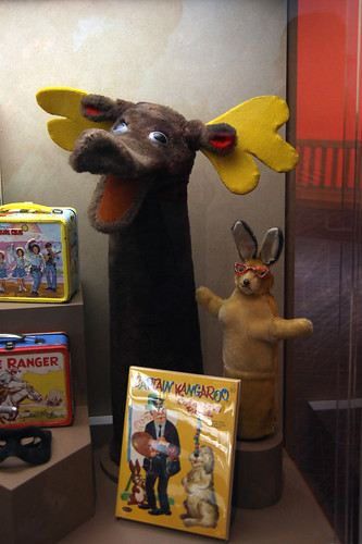 Mister Moose and Bunny Rabbit from Captain Kangaroo - Smithsonian Museum of American History - 2012-05-15