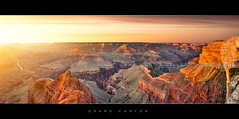Grand Canyon sunset (Beboy_photographies) Tags: sunset arizona panorama usa de soleil coucher grand canyon ciel hdr coucherdesoleil panoramique tatsunis