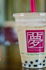 Pearl Milk Tea (jasperlin451) Tags: asian milk nikon tea drink beverage fantasia pearl boba tarro pearlmilktea pmt d7000