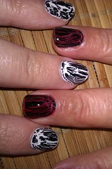 Black Crackle Nail Polish Design Ideas for Beginners