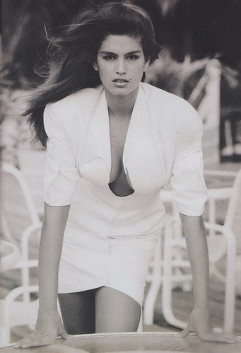 1988 - Vogue France - Cindy Crawford