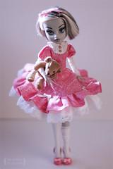 "Monster High Frankie Stein ""Babe"" (Trotilla) Tags: outfit shoes dress handmade frankie 2012 201205 27cm frankiestein monsterhigh"