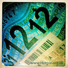 TWELVE (Hotpix [LRPS] Hanx for 1.5M Views) Tags: uk square 1212 december shot image smith tony dec number disk tax 12 app twelve 2012 iphone number12 no12 december12 expires numbertwelve tonysmith dvla december2012 hipstamatic thatitguy