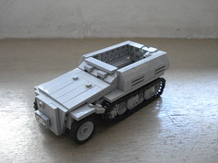 Sd.Kfz 250/1 Neuer Art (DutchLB.) Tags: art lego german ww2 worldwar axis 250 halftrack neuer sdkfz 2501