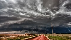 road to the storm (Marvin Bredel) Tags: storm oklahoma weather clouds rural best thunderstorm dirtroad countryroad severe kingfishercounty citrit canoneos5dmarkii marvinbredel therebeastormabruing