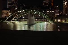 IMG_3729 (John Tavares Jr) Tags: city light fountain architecture night square landscape big downtown district central artificial financial