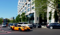 720 Mirage (BenGPhotos) Tags: orange black london ford car exotic mirage gt tuning panning supercar v8 spotting avro tuned 720 hypercar