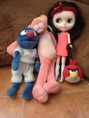 Coco, Pinky, Darwin y Pío
