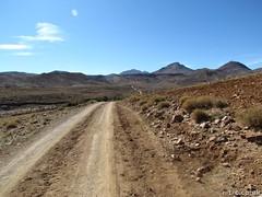 The long desert road (Tim R-T-C) Tags: africa holiday trekking walking northafrica atlasmountains morocco atlas highatlas keadventure peaksandvalleysofjebelsirwa