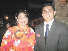 Cynthia M. Sakulenzki y Sergio Ríos.