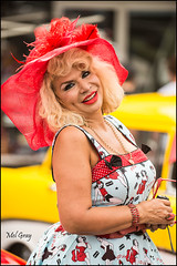Delighted-to-be-photographed_DSC7967 (Mel Gray) Tags: fashion nostalgia 1950s newsouthwales rocknroll hunterregion kurrikurri kurrikurrinostalgiafestival2014