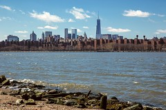 Freedom Tower, view from Williamsburg, Brooklyn (Daniel Portalatin Photography) Tags: urban ny newyork building water architecture downtown manhattan worldtradecenter scenic eastriver williamsburg freedomtower eastriverstatepark