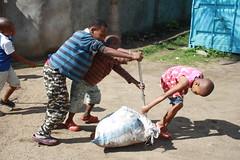 Kinderen helpen op hun manier