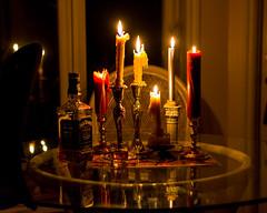 Distilled Life-8675 (RG Rutkay) Tags: stilllife candles blackout burbon