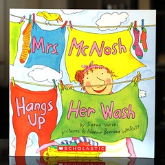 Mrs McNosh Hangs Up Her Wash (Vernon Barford School Library) Tags: new school fiction up bernard sarah reading book high humorous library libraries humor reads books super humour her read paperback story wash cover laundry junior novel covers bookcover nadine pick westcott middle weeks stories mrs vernon quick recent picks rhyme bookcovers paperbacks novels fictional humourous rhymes barford hangs softcover rhyming vernonbarford softcovers mcnosh storiesinrhyme storyinrhyme superquickpicks superquickpick 9780590389693