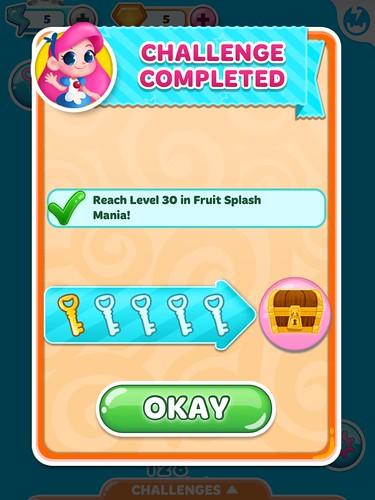 Candy Blast Mania Missions: screenshots, UI