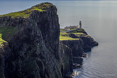 Neist Point (rpimages.com) Tags: ocean light sea lighthouse water scotland rocks isleofskye