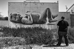 Festival de Arte Urbano Museo del  Mar Menor.Graffitti.Los Alczares. Una iniciativa de La Compaa de Mario. Murcia (kirie24(Caco)) Tags: street bw festival grafitti mario murcia urbano marmenor compaia alczares