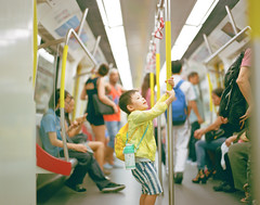 exciting on the train... (Jerome Chi) Tags: family portrait 120 film kids hongkong kid pentax taiwan ishootfilm 120film filmcamera 6x7 67 105mm f24 filmphotography pentax6x7 pentax67 filmphoto filmisnotdead lovefilm familylove  filmisgood pentaxcamera  filmphotograph