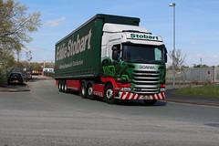H2371 ANNETTE CHRISTINE  PO15 UYR (Barrytaxi) Tags: transport eddie scania stobart eddiestobart