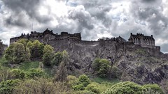Edinburgh Castle, Scotland (Thank you for 4M+ views.) Tags: castle clouds lumix volcano scotland edinburgh panasonic