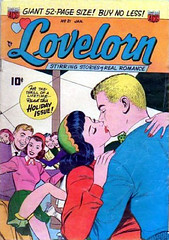 Lovelorn 21 (Michael Vance1) Tags: woman man art love comics artist marriage romance lovers dating comicbooks relationships cartoonist anthology silverage