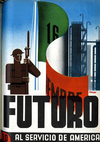 Portada de Josep Renau Berenguer para la Revista Futuro (septiembre de 1945)