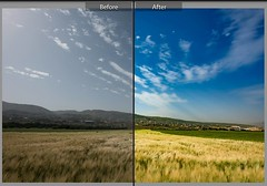 The power of shooting #RAW files and #post_prossessing for #landscape photography. Stay tuned. #lightroom #photoshop #livelovelebanon #clouds #sky #Bekaa (A. Saleh) Tags: lebanon nature nikon saleh asaad instagram ifttt