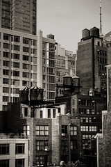 Concrete Jungle (MEL2YYZ) Tags: life new york nyc vacation urban bw tower tourism water landscape sony cities condos appartments a6000