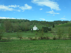 Distant Orthodox church from the highway, Peter highland, Serbia (Paul McClure DC) Tags: church scenery serbia balkans srbija zlatibor peter sjenica may2016