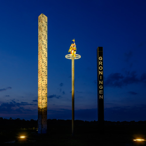 The Tower of Cards, a Groningen City Marking
