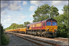 66119, Bishops Itchington (Jason 87030) Tags: stone gm crossing ying shed 2006 freight xing wagons vq studfarm class66 ews spetember hinksey bishopsitchington 66119 virtualquarry
