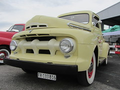 Ford F1, 1951 (v8dub) Tags: ford f 1 1951 pritsche up pick pickup schweiz suisse switzerland fribourg freiburg american pkw voiture car wagen worldcars auto automobile automotive old oldtimer oldcar klassik collector classic cuvillens
